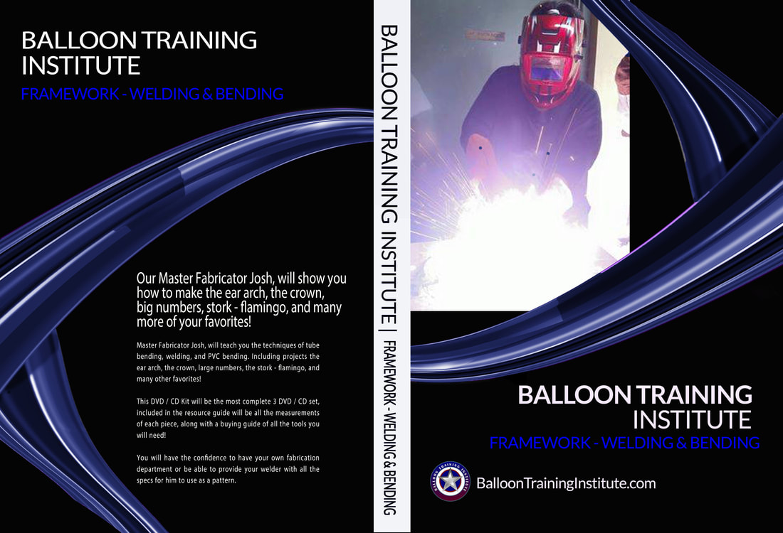Balloon training institute offers best value in balloon for Balloon decoration courses dvd